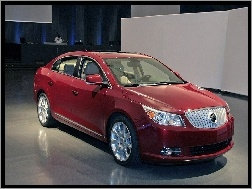 Salon, Bordowy, Buick LaCrosse